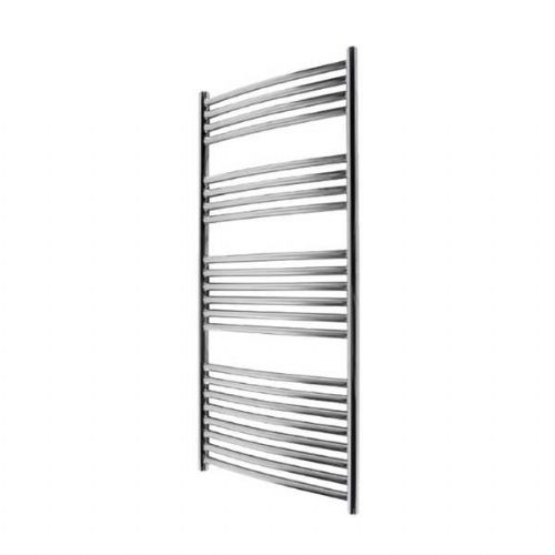 Abacus Elegance Radius Curved Towel Rail - 1120mm x 480mm - Polished Stainless Steel